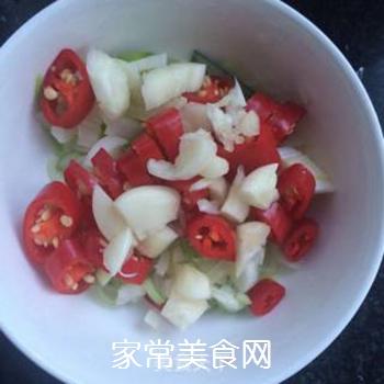 干香菇炒包菜的做法步骤:4
