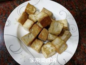 黄金酸甜豆腐的做法步骤:4