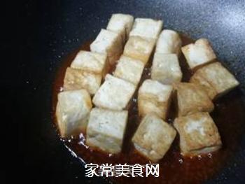 黄金酸甜豆腐的做法步骤:6