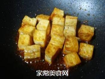 黄金酸甜豆腐的做法步骤:7