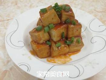 黄金酸甜豆腐的做法步骤:8