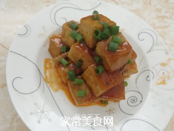 黄金酸甜豆腐的做法