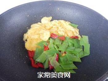 丝瓜皮炒鸡蛋的做法步骤:8