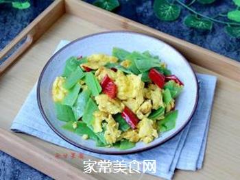 丝瓜皮炒鸡蛋的做法步骤:9