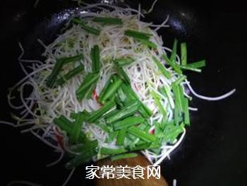 素炒绿豆芽的做法步骤:8