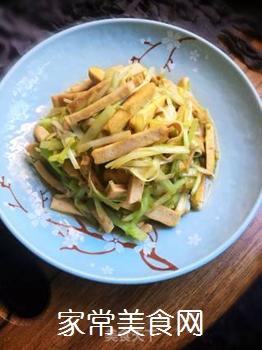 豆干炒韭黄的做法步骤:8