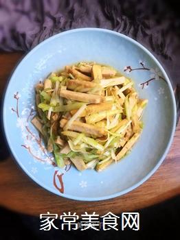 豆干炒韭黄的做法