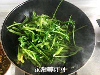 素炒空心菜的做法步骤:4