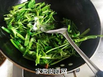 素炒空心菜的做法步骤:5