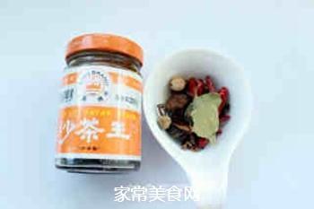 沙茶炒毛豆的做法步骤:2