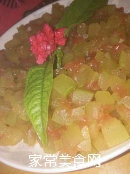清煮西瓜皮的做法步骤:3