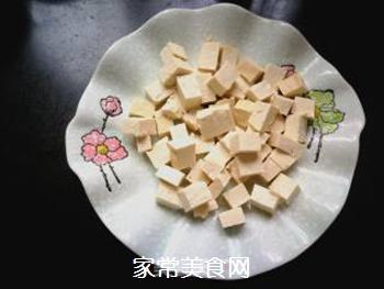 尖椒烧豆腐的做法步骤:4