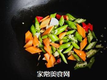 尖椒烧豆腐的做法步骤:5