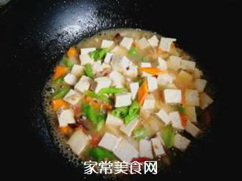 尖椒烧豆腐的做法步骤:9
