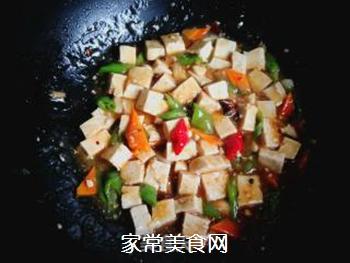 尖椒烧豆腐的做法步骤:10