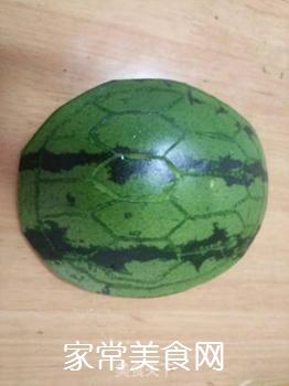 西瓜皮小乌龟的做法步骤:3