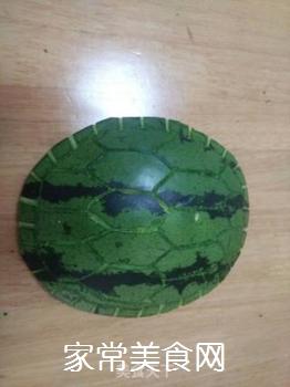 西瓜皮小乌龟的做法步骤:4