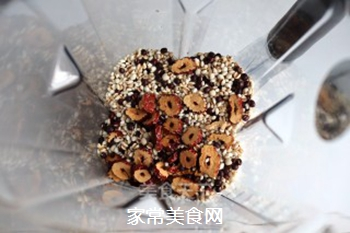 红豆红枣薏米糊的做法步骤:5