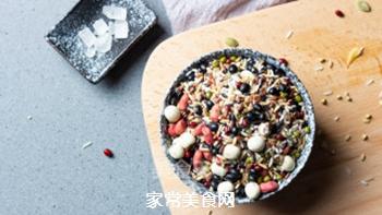 天气渐凉,来一碗十谷米粥暖暖身吧的做法步骤:1