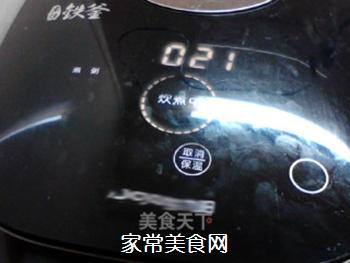 酸甜甘润的陈皮梅花生粥的做法步骤:6