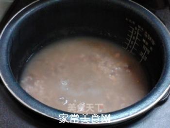 酸甜甘润的陈皮梅花生粥的做法步骤:11