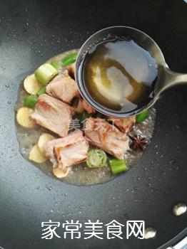 土豆蘑菇炖排骨#御寒美食#的做法步骤:5