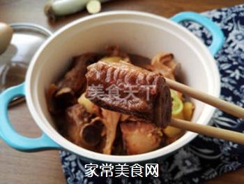土豆蘑菇炖排骨#御寒美食#的做法步骤:14