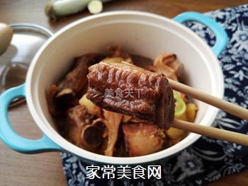 土豆蘑菇炖排骨#御寒美食#的做法