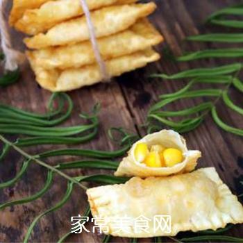 快手玉米派的做法步骤:7