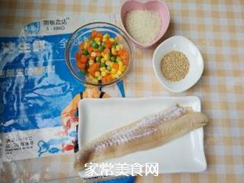 杂蔬藜麦鳕鱼粥的做法步骤:1