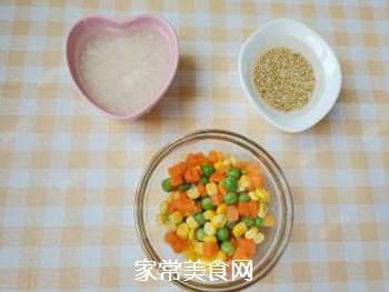 杂蔬藜麦鳕鱼粥的做法步骤:2