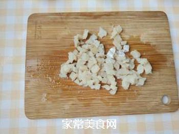 杂蔬藜麦鳕鱼粥的做法步骤:3