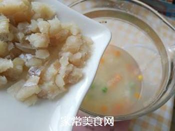 杂蔬藜麦鳕鱼粥的做法步骤:10