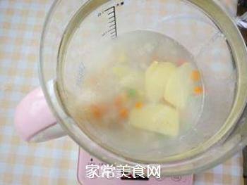 杂蔬藜麦鳕鱼粥的做法步骤:11