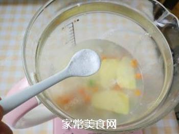 杂蔬藜麦鳕鱼粥的做法步骤:12