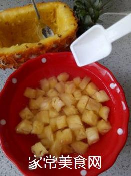 缤纷菠萝饭的做法步骤:4