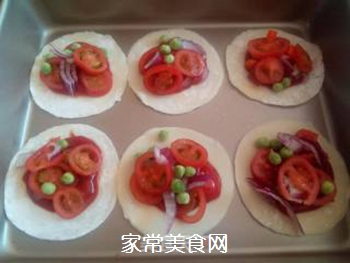 饺子皮披萨的做法步骤:3