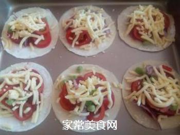 饺子皮披萨的做法步骤:4