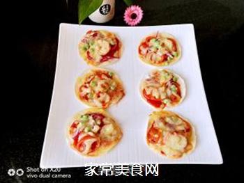 饺子皮披萨的做法步骤:5
