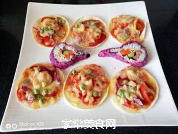 饺子皮披萨的做法步骤:6