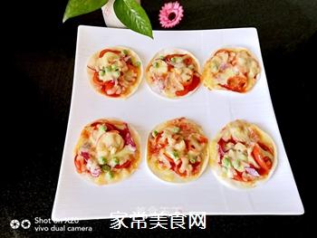 饺子皮披萨的做法