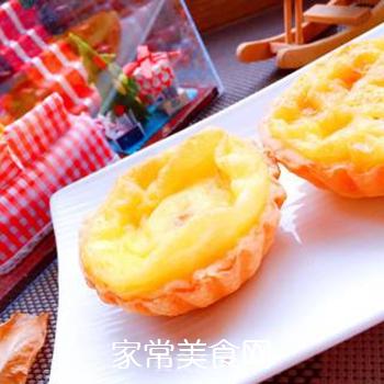 千奇百味酥皮蛋挞的做法步骤:7