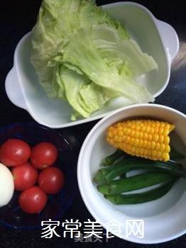 时蔬拼蛋的做法步骤:3