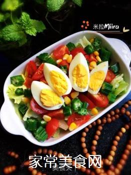 时蔬拼蛋的做法步骤:9
