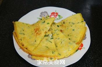 嫩玉米早餐饼的做法