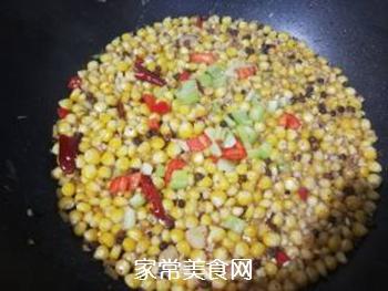 炒麻辣玉米粒的做法步骤:13