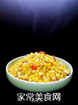 炒麻辣玉米粒的做法步骤:14