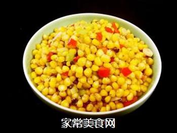 炒麻辣玉米粒的做法步骤:15
