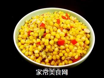 炒麻辣玉米粒的做法