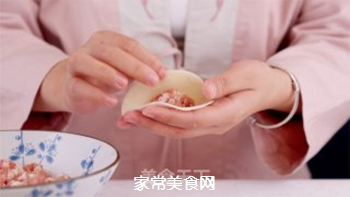 四喜蒸饺的做法步骤:6